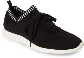 Steve Madden Black Jei Knit Sneakers