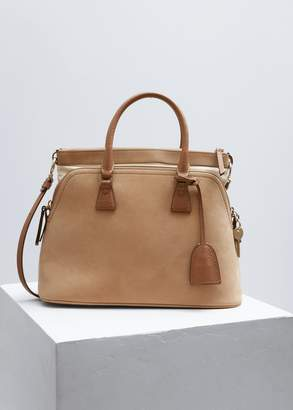 Maison Margiela Small Suede 5AC Handbag