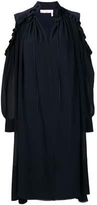 Chloé ruffle trimmed dress