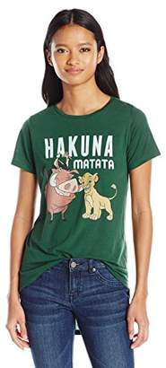 Disney Junior's Lion King Simba Timon and Pumba High Low Drapey Graphic Tee $20.82 thestylecure.com
