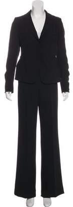Max & Co. MAX&Co. Notch-Lapel Wide-Leg Pant Suit