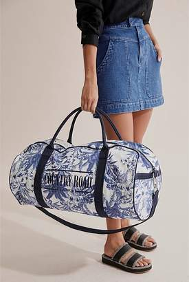 Country Road Toile Heritage Logo Tote