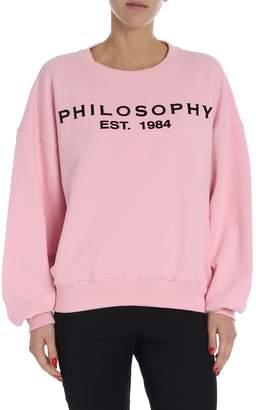 Philosophy di Lorenzo Serafini Logo Print Sweatshirt