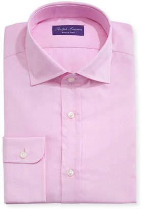 Ralph Lauren Solid Dobby Cotton Dress Shirt