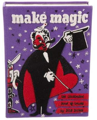 Olympia Le-Tan Make Magic Embroidered Clutch