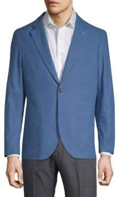 Tailorbyrd Baltazar Stretch Cotton Linen Jacket