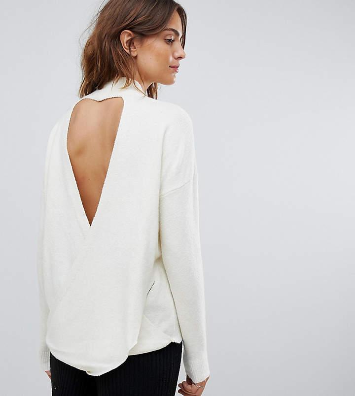 Micha Lounge jumper with cross drape back