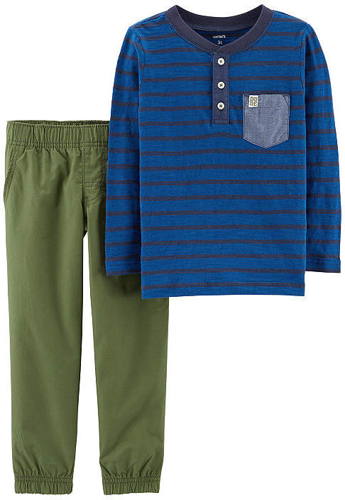 CARTERS Carter's 2-pc. Pant Set Baby Boys