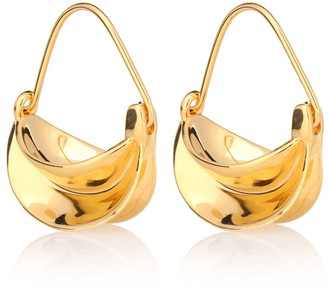 Anissa Kermiche Mini Paniers Dores 18kt gold-plated earrings