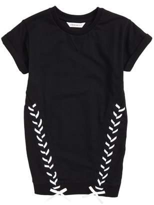 Little Eleven Paris Little ELEVENPARIS Adorn Sweatshirt Dress