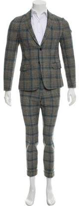 Gucci Wool Cropped Two-Piece Suit
