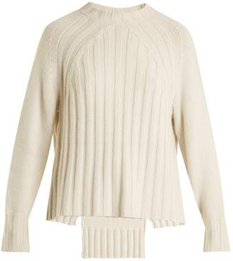 Nili Lotan Everly ribbed-knit cashmere sweater
