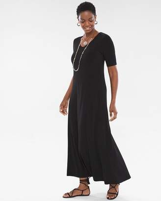 Chico's Chicos Solid Maxi Dress