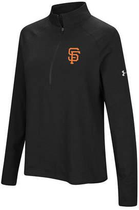 Under Armour Women's San Francisco Giants Passion Half-Zip Pullover
