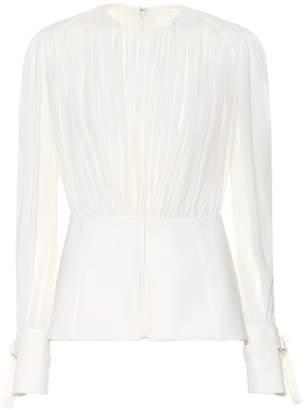 Chloé Silk pongé blouse