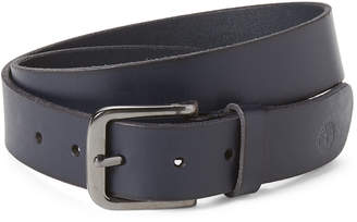 Timberland Navy Leather Belt