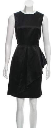 Michael Kors Sleeveless Satin Dress