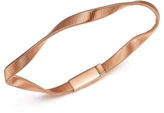 Marco Bicego 18K Rose Gold Marrakech Supreme Ribbed Twisted Bracelet