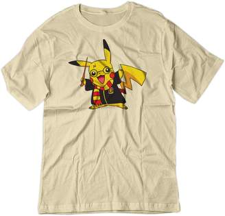 Pokemon BSW Men's Pikachu Potter Harry Potter Shirt SM