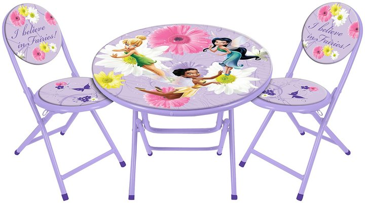 Disney 3 PC Round Table And Chair Set