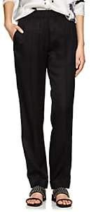 Helmut Lang Women's Silk-Blend Suit Pants-Black