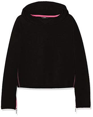 GUESS Girl's J83q10k7d70 Sports Hoodie,(Size: 8)