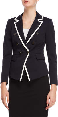 Karen Millen Blue Double-Breasted Blazer
