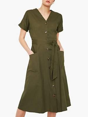 eab503b6b32 Khaki Shirt Dress - ShopStyle UK