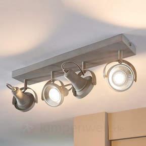 Längliche LED-Deckenleuchte Pieter, GU10