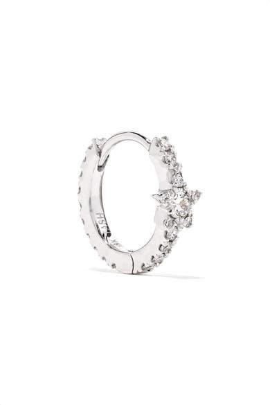 Maria Tash - Eternity 18-karat White Gold Diamond Earring