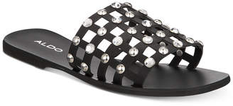 Aldo Unterman Embellished Slide Sandals Women's Shoes