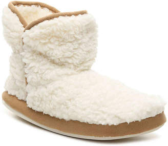 Dearfoams Short Pile Bootie Slipper - Women's