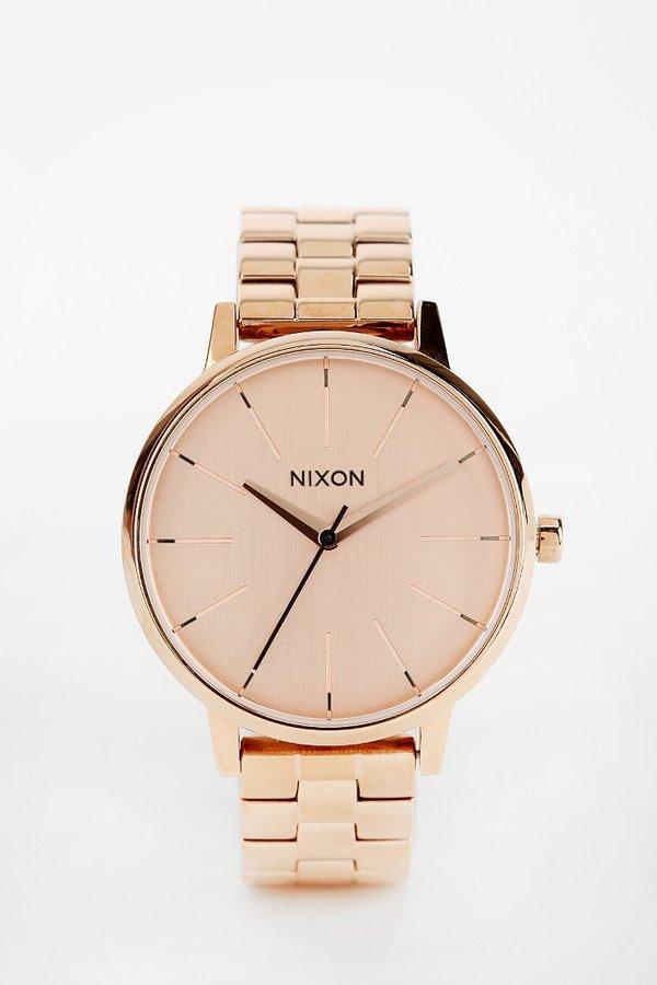 Nixon Kensington Rose Gold Watch