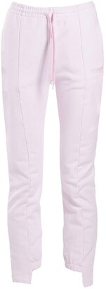 Vetements cut-up sweatpants pink