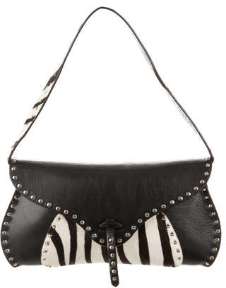 CelineCéline Ponyhair & Leather Bag