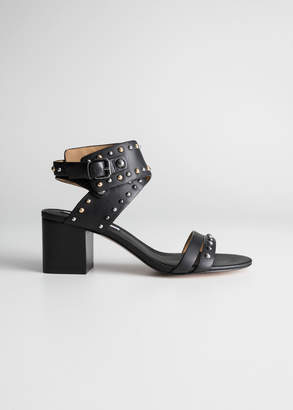 And other stories Studded Sandalette Pumps