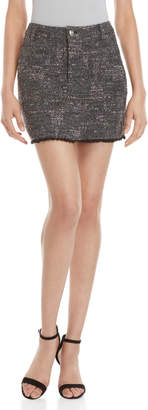 Derek Lam 10 Crosby Lyla Tweed Mini Skirt