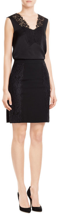 DKNYDKNY Silk Top with Lace