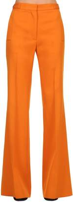 Rochas Wide Leg Wool Pants
