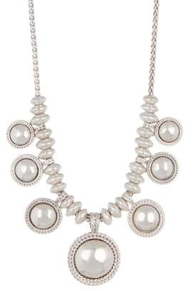 Lucky Brand Chain Bead Collar Necklace