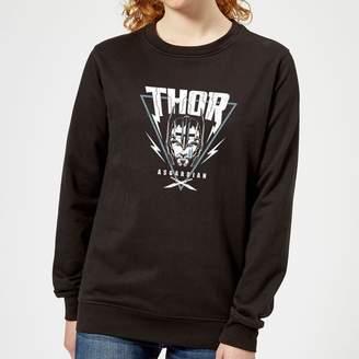 Marvel Thor Ragnarok Asgardian Triangle Women's Sweatshirt