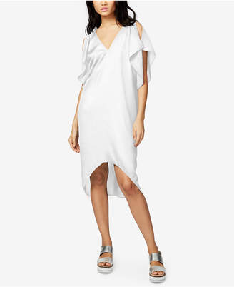 Rachel Rachel Roy High-Low Flutter-Sleeve Dress, Created for Macy's $119 thestylecure.com