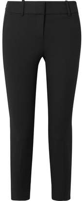 J.Crew Cameron Cropped Stretch-cady Slim-fit Pants - Black