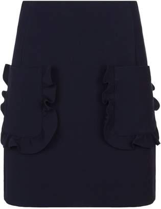 Sandro Ruffle Pocket Skirt