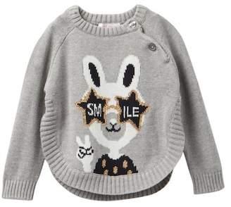 Joe Fresh Popover Sweater (Baby Girls)