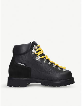 Proenza Schouler Chunky leather hiking boots