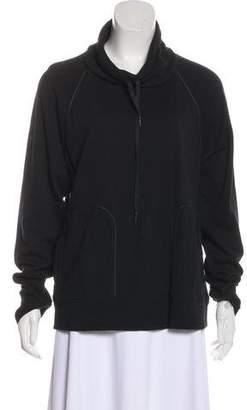 Alexander Wang Cowl Neck Long Sleeve Sweatshirt