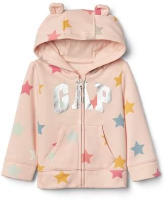 Gap Starry logo zip hoodie