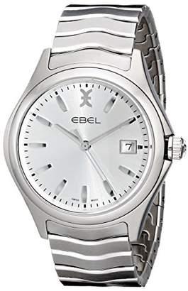 Ebel Men's 1216200 Wave Analog Display Swiss Quartz Watch