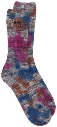 Stussy Tie dye marl socks
